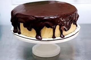 Choclate peanut butter cake