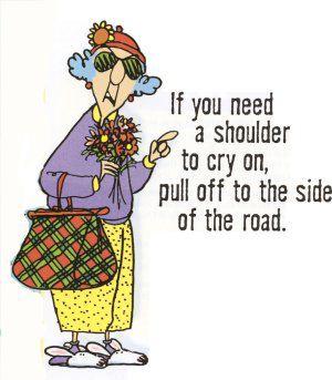 Maxine shoulder
