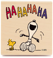 Snoopy laugh