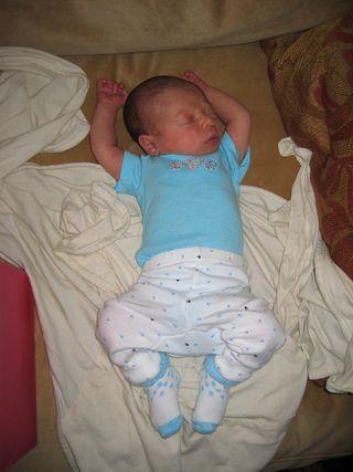 Baby blue liv