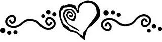 Divider heartscroll