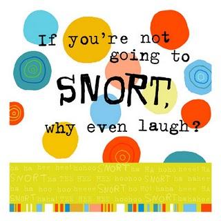 Snort-laugh