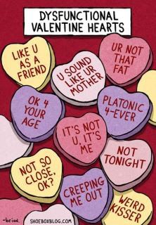 Valentine's disf. hearts